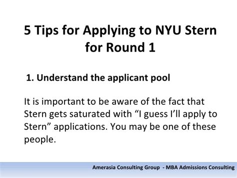 Nyu Mba Application Essays by 5 Tips For Applying To Nyu For 1