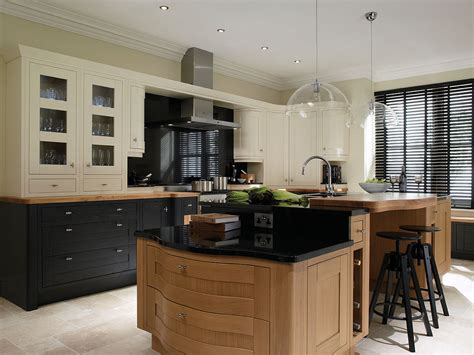 a frame kitchen ideas milton charcoal and oak in frame kitchen interior