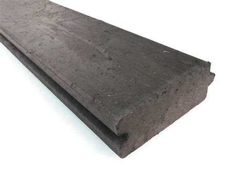 recycled mixed plastic tongue groove plank board 120 x 45mm