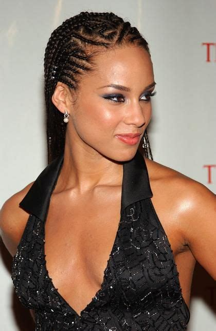 new yourk goddes braids beads for adult hairstyles alicia keys wore her