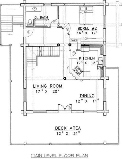 4 bedroom cabin floor plans 4 bedroom 3 bath log cabin house plan alp 04z5