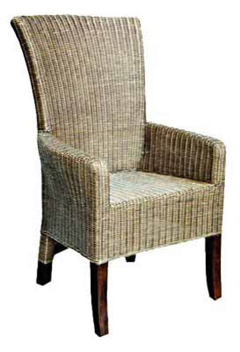patio woven mahogany chair