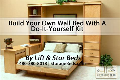 build your own bed plans to build do it yourself murphy bed kit pdf plans