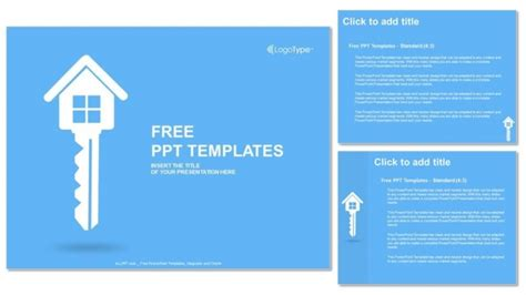 Real Estate Key Powerpoint Templates Real Estate Powerpoint Template