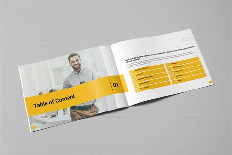 landscape layout printing corporate brochure vol 3 landscape by fathurfateh