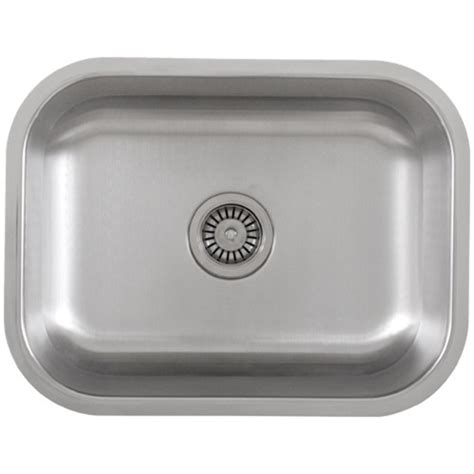 Ticor S505 Undermount 16 G Stainless Steel Single Bowl Ticor Kitchen Sinks