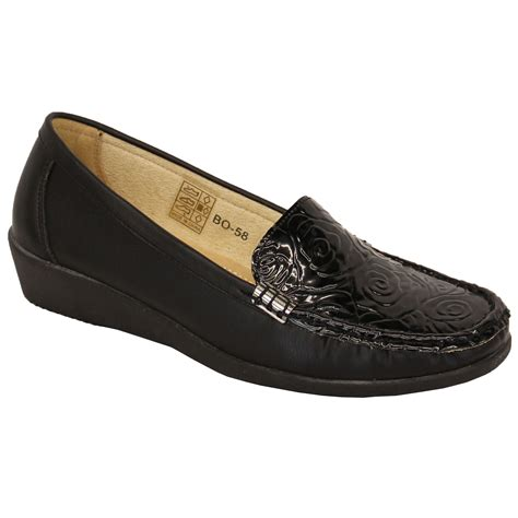 womens loafers and moccasins womens loafers slip on patent look moccasins shoes