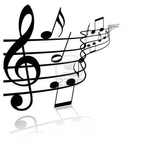 clips music best black and white music notes 9907 clipartion com