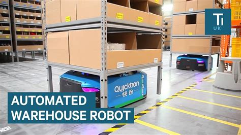 alibaba robot inside alibaba s smart warehouse staffed by robots youtube