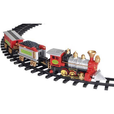 christmas tree train set walmart com