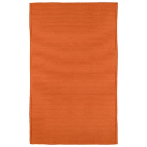 3 X 5 Indoor Outdoor Rugs Kaleen Orange 3 Ft X 5 Ft Indoor Outdoor Area Rug 3020 89 3 X 5 The Home Depot