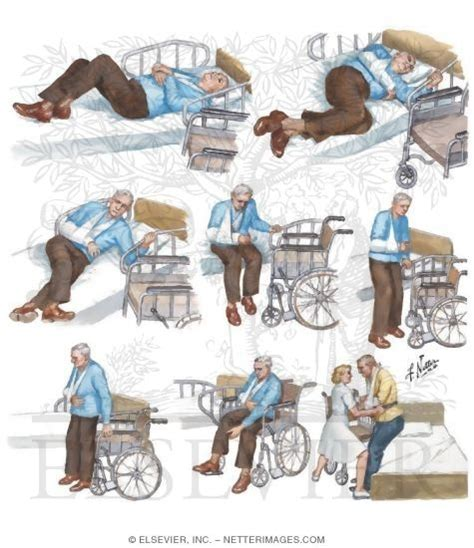 Transfer Bed To Chair transfer from bed to wheelchair after stroke