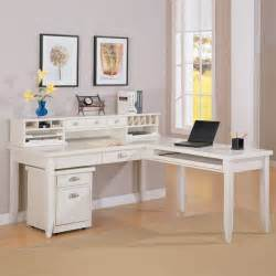 White L Shape Desk Kathy Ireland Home By Martin Tribeca Loft L Shaped Writing Desk With Optional Hutch And File