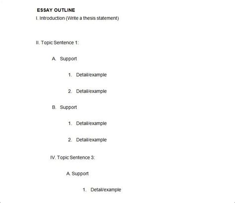 21 Outline Templates Pdf Doc Free Premium Templates Outline Template Word