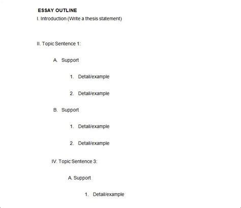 21 Outline Templates Pdf Doc Free Premium Templates Outline Template