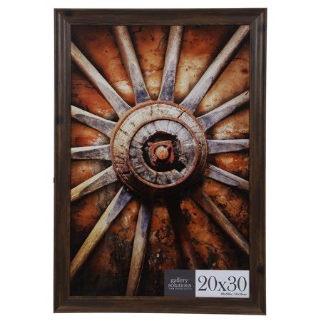 20x30 Picture Frame On Wall by 20x30 Walnut Large Wall Frame Walmart
