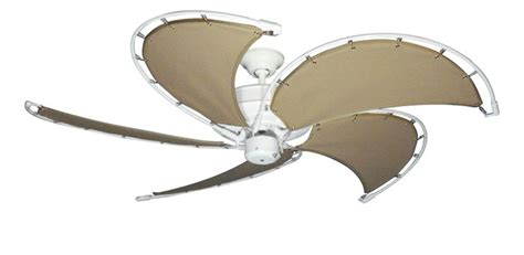 ceiling fans with fabric blades pin by dan s fan city on nautical fans