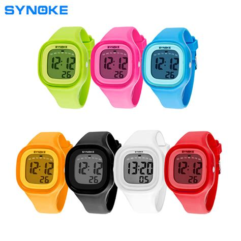 synoke new brand waterproof fashion sports led