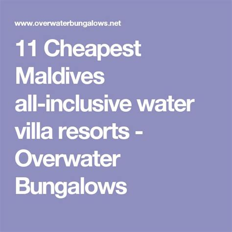 best maldives all inclusive best 20 all inclusive trips ideas on all