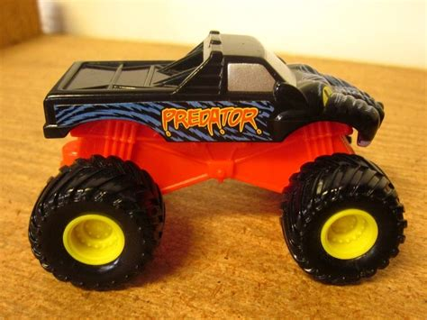 monster jam toy trucks predator monster truck toy 2004 retired monster jam car