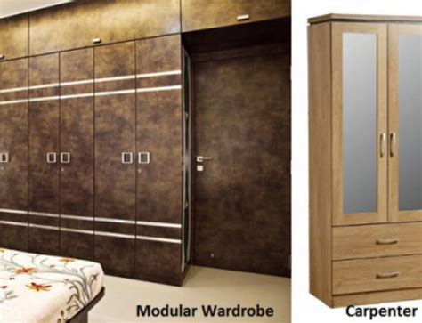 wardrobe vs armoire basic know how to modular wardrobes contractorbhai