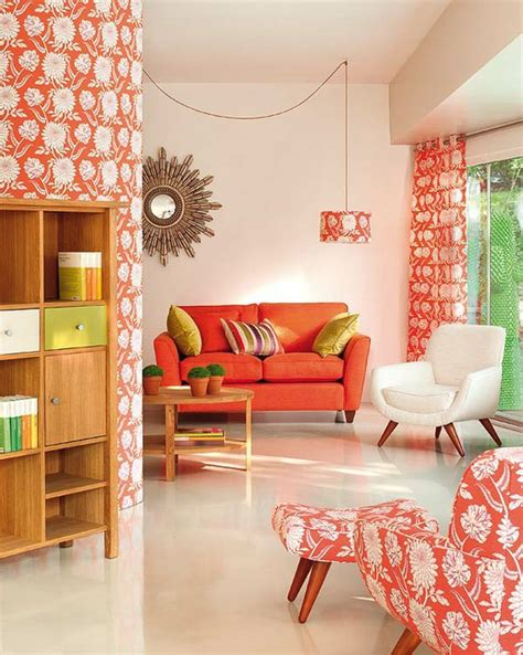Coral Room by Room Of The Day Eclectic Coral Mod Homejelly