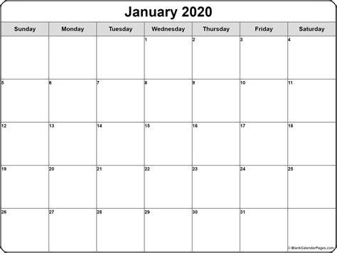 january  calendar  printable monthly calendars