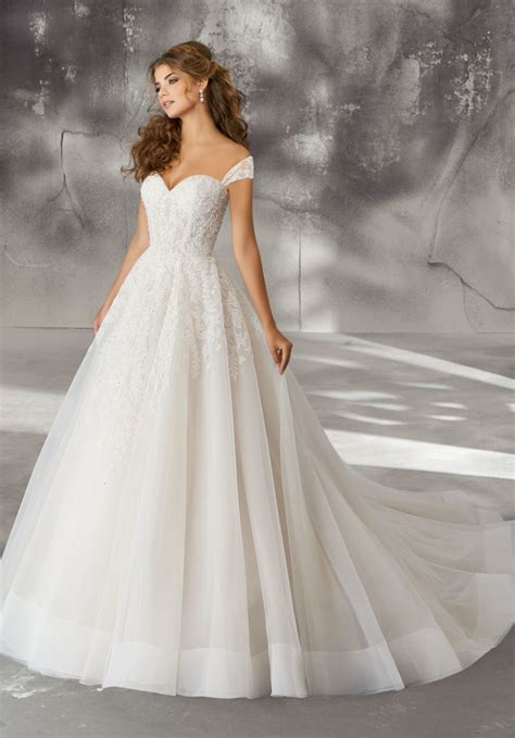 laurielle wedding dress style 8270 morilee