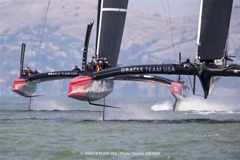america s cup 2013 optimizing design of ac72 catamarans - Hydrofoil Catamaran Oracle