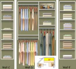 closet organized white woodworking projects