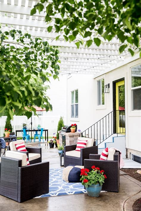 blue patio stylish deck patio makeover ideas satori design for living