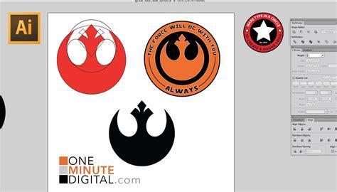 resistor symbol illustrator make the wars rebel insignia in illustrator