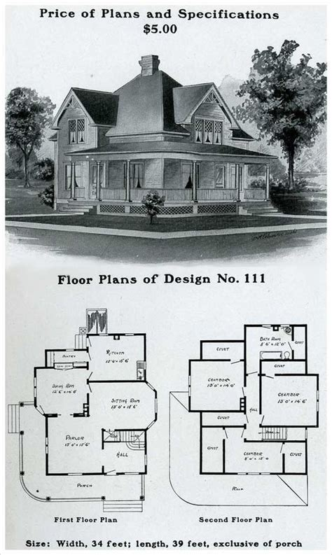 vintage farmhouse plans i believe this maybe the farm house from the walking dead