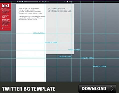 twitter background free psd template free psd in photoshop