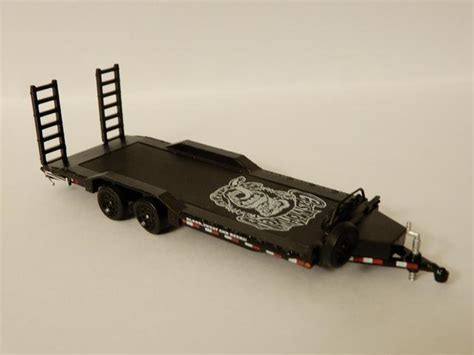 Gas Monkey Garage Car Trailer by Amlv20 S 1 64 Collection Dx 1 43 And Smaller