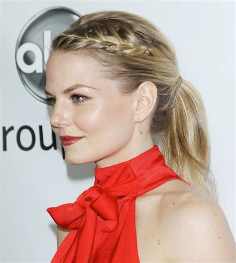Work Out Hairstyles by How To Braid Your Bangs Stylecaster