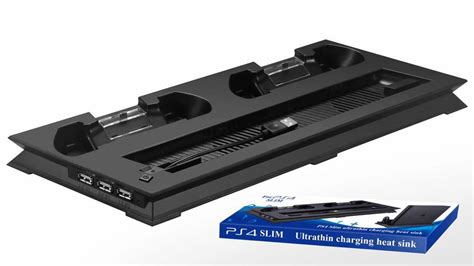 Jual Ps4 Slim Usb Hub Dual Fan Cooling Cooler Charging Dock Vertical S 1 ps4 slim vertical dock charge station controller charger