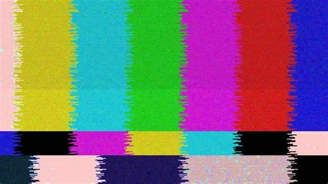 when was the color tv real no signal tv tv colors 3 free footage hd