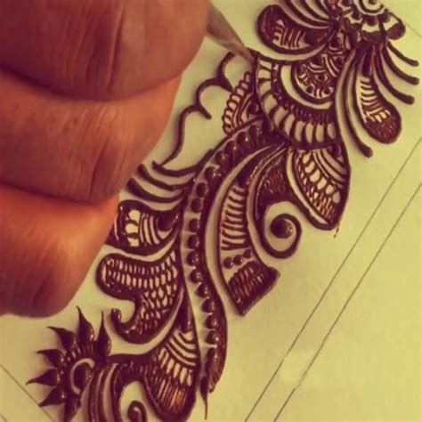 how to learn mehndi designs at home 20 mehndi designs for beginners by images