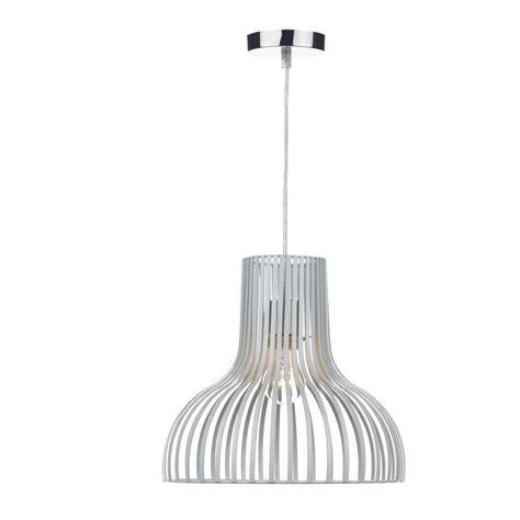 Easy Fit Ceiling Lights Modern Non Electric Ceiling Pendant Shade In White Finish