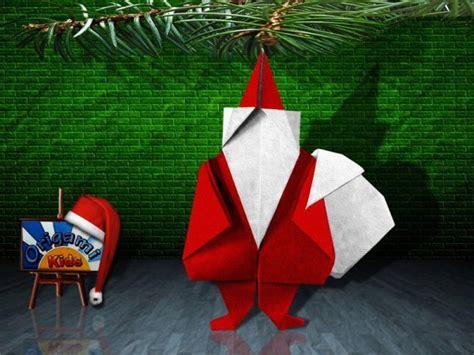 origami santa claus by jun maekawa