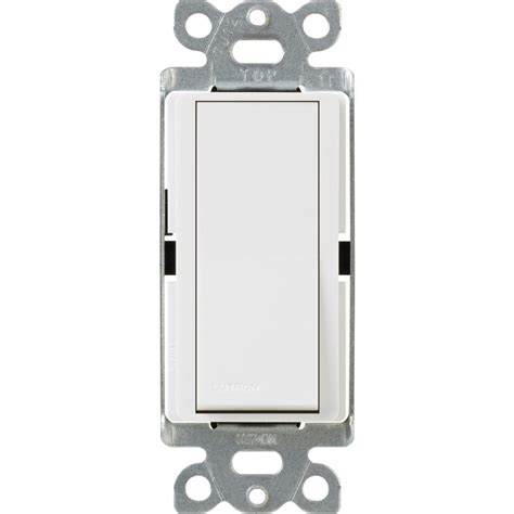 leviton decora 15 single pole dual switch white r62