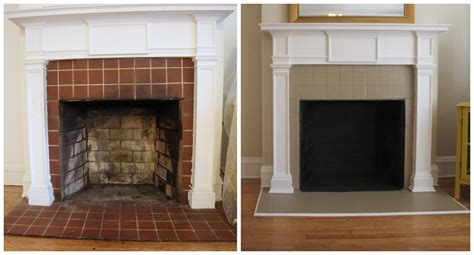 Painting Fireplace Tiles by Before After Living Room And Dining Room I