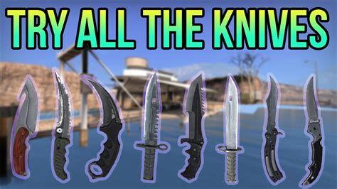 Cs All Type how to try out any knife in try out all vanilla
