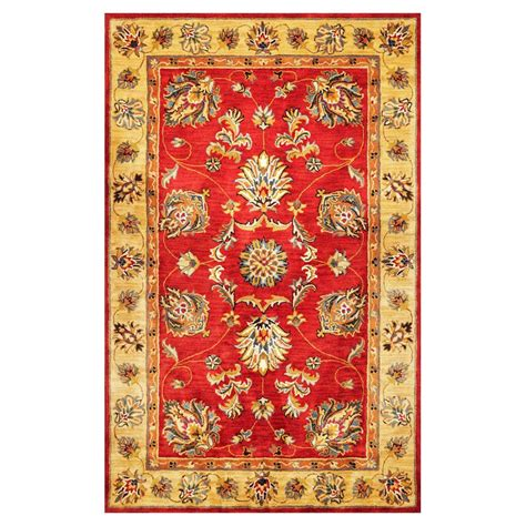 tapestry rugs shop kas rugs tapestry today rectangular indoor tufted throw rug common 3 x 5 actual 3 25 ft