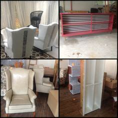 Painting Pleather Furniture by 1000 Images About Painted Pleather On Rub N