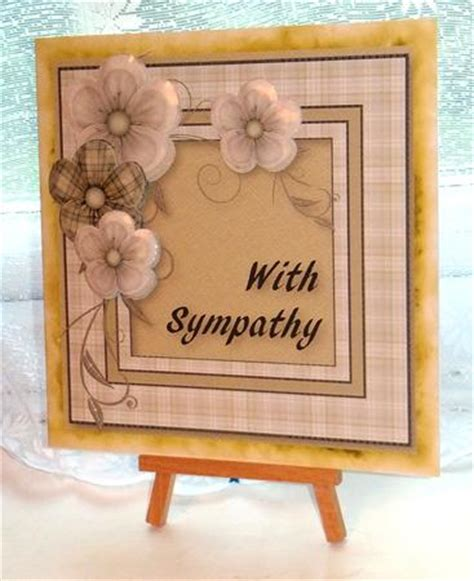 make your own sympathy card with sympathy large card front photo by carol vaughan