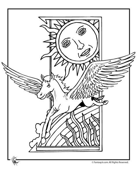 Desenhos Do Cavalo Alado Para Colorir Desenhos Para Coloring Deco