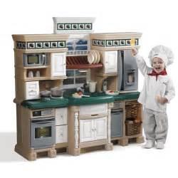lifestyle deluxe kitchen play kitchen step2