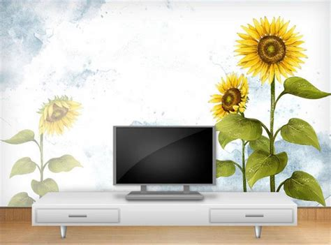 Sunflower Wall Murals compare prices on sunflower wall murals online shopping